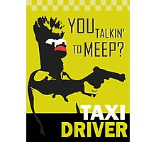 beeker  vs taxidriver Photographic Print