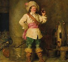 Francesco Beda (Trieste 1840-1900) Wine Tasting by Adam Asar