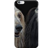 He and She Afghan iPhone Case/Skin