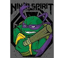 Ninja Spirit - Donnie Photographic Print