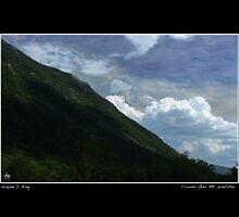 Clouds Over Mount Webster Poster by Wayne King