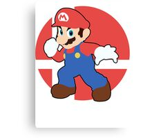 Mario - Super Smash Bros. For Wii U And 3DS Canvas Print