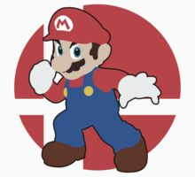 Mario - Super Smash Bros. For Wii U And 3DS by TheBritishSonic