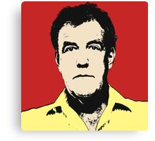 Top Gear - Jeremy Clarkson POP Art Canvas Print