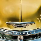 Yellow Chevy &amp; Grill by Robert Beck