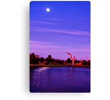 """Moonlight Over Minya"" Canvas Print"
