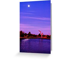 """Moonlight Over Minya"" Greeting Card"