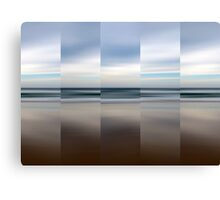 Changing With The Tide - Polyptych Canvas Print