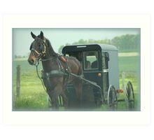 Lancaster County Art Print