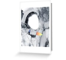 THE NURSE IS HERE. Greeting Card