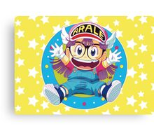 Dr Slump E Arale Canvas Print