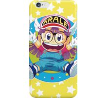 Dr Slump E Arale iPhone Case/Skin