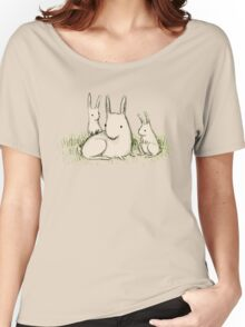 Bunny Family Women's Relaxed Fit T-Shirt