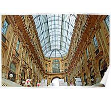 Galleria Milano Interior Poster