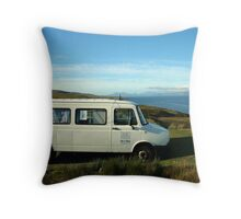 Room with  a  seaview Throw Pillow