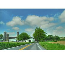 Pennsylvania Amish Farm Photographic Print