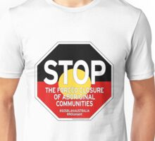 OFFICIAL MERCHANDISE - #SOSBLAKAUSTRALIA design 2 Unisex T-Shirt