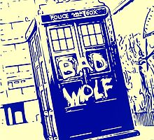 Bad Wolf - TARDIS  by Bumpster