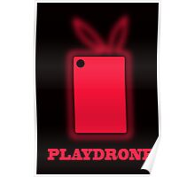 Playdrone with red field Poster
