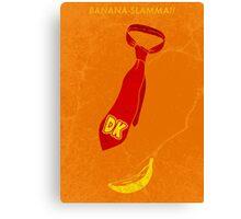 Banana-slamma! Canvas Print