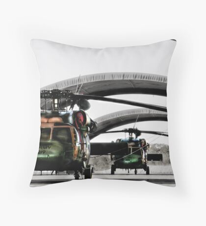 Blackhawk Throw Pillow