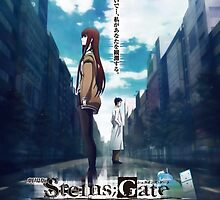 Steins;Gate film poster by Daru