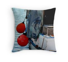 """Moored"" Throw Pillow"