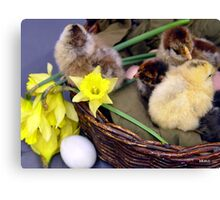 Easter Ambience Canvas Print