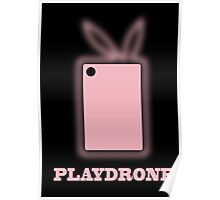 Playdrone with pink field Poster