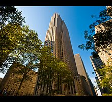 Rockefeller Center by Dominic Kamp