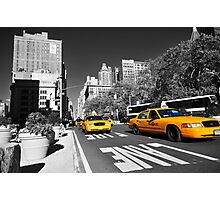New York Taxi 2 Photographic Print