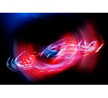 Spun Lights Photographic Print