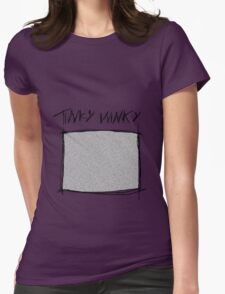 Tinky Winky Womens Fitted T-Shirt