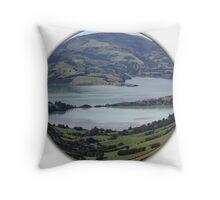 Akaroa NZ Throw Pillow