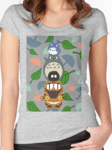 Totem Totoro - BEST FOR SAMSUNG CASES Women's Fitted Scoop T-Shirt