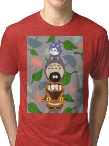 Totem Totoro - BEST FOR SAMSUNG CASES Tri-blend T-Shirt