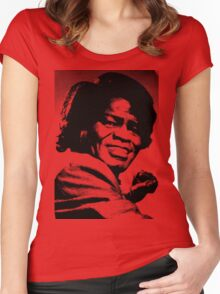 James Brown Women's Fitted Scoop T-Shirt