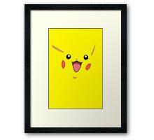 Pika pika graphic (Pokemon) By Tokyo_Fool Framed Print