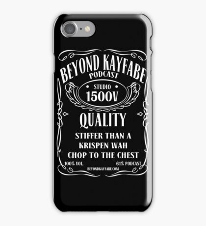 Beyond Kayfabe Podcast - Jack iPhone Case/Skin