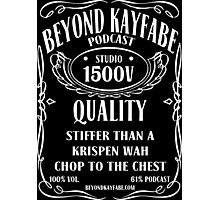Beyond Kayfabe Podcast - Jack Photographic Print