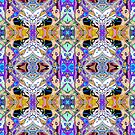 Symmetrical Fantasy Abstract 2 by Phil Perkins
