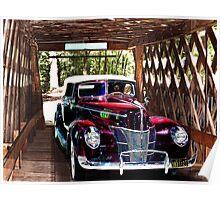 Alabama Covered Bridge Poster