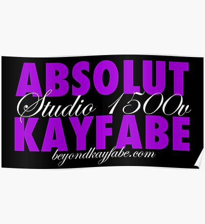 Beyond Kayfabe Podcast - Absolut Poster