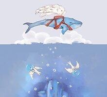 If Whales could Fly v1 by melcsee