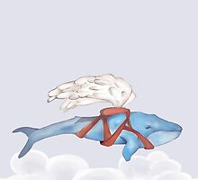 If Whales could Fly v2 by melcsee