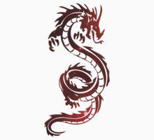 Burning Dragon - Red Cloud Baby Tee