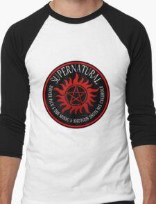 Supernatural Driver pricks the music  Men's Baseball ¾ T-Shirt