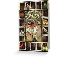 september harvest Greeting Card