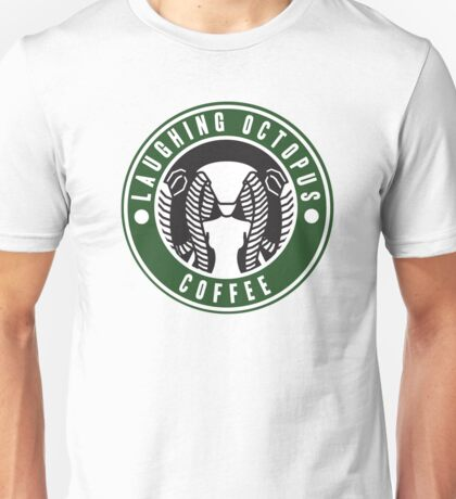 Laughing Octopus Coffee Unisex T-Shirt