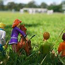 Scooby and the gang at the cricket by Cydell